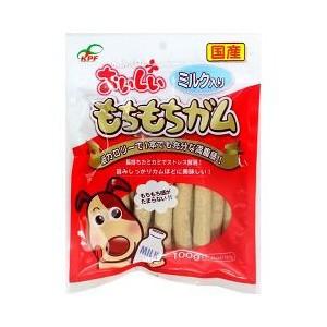 九州ペットフード おいしいもちもちガムミルク 100g 【ドッグフード/犬用おやつ/犬のおやつ・いぬのおやつ/】【bulk】の画像