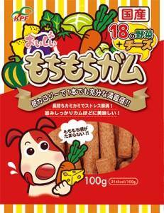九州ペットフード もちもちガム野菜&チーズ 100g 【ドッグフード(歯磨きガム・デンタルケア)/犬用おやつ】【bulk】の画像