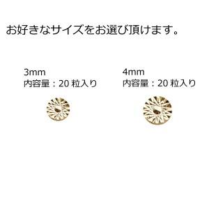 スタッズ コイン型 ネイルパーツ アート メタル ゆうパケット対応 @メタルパーツ サンシャインコイン_a0205