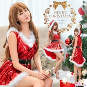 ce3bb4ad340 サンタ コスプレ サンタコス コスチューム 衣装 サンタコスチューム セクシー 定番 ガウン ローブ クリスマス サンタクロース