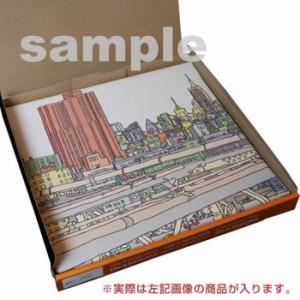 町並み インテリアパネル アートパネル SIMPLE XLサイズ 100cm×100cm lib-4122642s5  /NP 後払い/北欧/インテリア/セール/モダン/送料無
