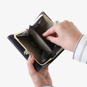 aadf82bd6df4 【最大P34倍☆還元祭限定】アルベロ 財布 ALBERO 二つ折り財布 がま口財布 がま口 PIERROT ピエロ レディース 日本製  6408の通販はWowma!