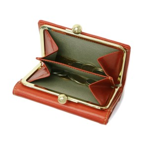 ac46eb267c13 【最大P34倍☆還元祭限定】アルベロ 財布 ALBERO 二つ折り財布 がま口財布 がま口 PIERROT ピエロ レディース 日本製 6408