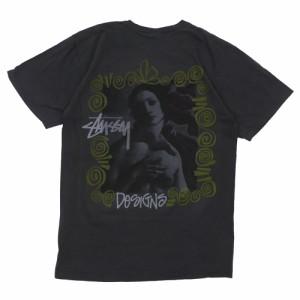 ステューシー STUSSY Venus Pig Dyed Tee Tシャツ BLACK ブラック 黒 メンズ 半袖Tシャツ