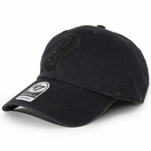47 Brand k-rgw19gwsnl-bkh サンアントニオ スパーズ CLEAN UP キャップ BLACK ブラック 黒 ヘッドウェア