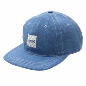 新品 ルックスタジオ LQQK STUDIO DENIM LOGO HAT キャップ WASHED DENIM デニム ヘッドウェア