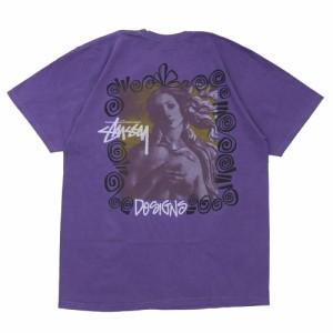 ステューシー STUSSY Venus Pig Dyed Tee Tシャツ PURPLE パープル メンズ 半袖Tシャツ