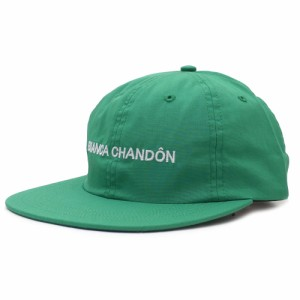 新品 ビアンカシャンドン Bianca Chandon Logotype Hat キャップ GREEN グリーン メンズ ヘッドウェア
