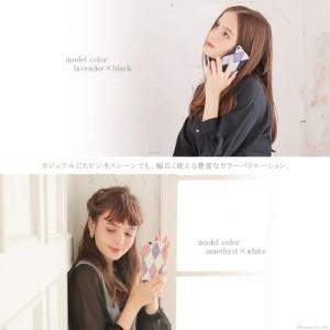 iPhoneケース レディース スマホケース スマホカバー iPhone6  iPhone7 iPhone8 ダイヤ柄 Clelia クレリア 【CL-5103】mlb