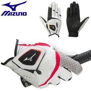 ミズノ ゴルフグローブ メンズ 右手用 ダブルグリップ 5MJMR051