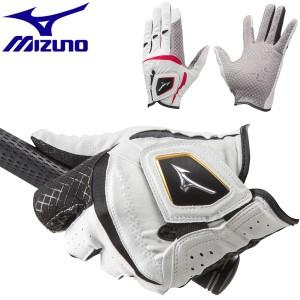 ミズノ ゴルフグローブ メンズ 左手用 ダブルグリップ ショート 5MJMS051