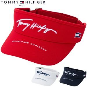 トミーヒルフィガー ゴルフ 鹿の子 バイザー THMB214F