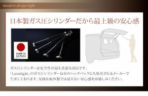 【g5981-02】【オリジナルポケットコイル】【セミダブル】 Lunalight 大容量 跳ね上げベッド 照明 コンセント付き お洒落 収納 モダン
