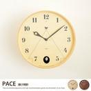 【g77036】カッコ—時計 鳩時計 掛け時計 壁掛け 時計 おしゃれ かわいい 日本製 クロック ハト PACE(パーチェ)