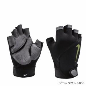 NIKE ナイキ トレーニンググローブ フィットネスグローブ エレメンタル メンズ グローブ ブラック M/L AT1021 トレーニング 両手 男性