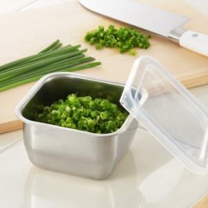 おかずストッカー ミニ 保存容器 520ml ステンレス製 ステンレス キッチン用品 フードコンテナー キッチン雑貨 食品保存