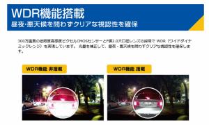 高画質 ドライブレコーダー フルHD 常時録画 Wi-Fi対応 microSD付属 Transcend DrivePro 200 [TS16GDP200M-J]【送料無料】