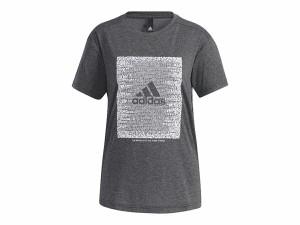 アディダス:【レディース】マストハブ ワード 半袖Tシャツ【adidas スポーツ フィットネス 半袖 Tシャツ】