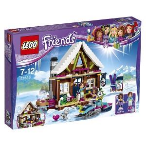 5702015866552:レゴ フレンズ スキーリゾート スノーロッジ 41323【新品】 LEGO Friends 知育玩具