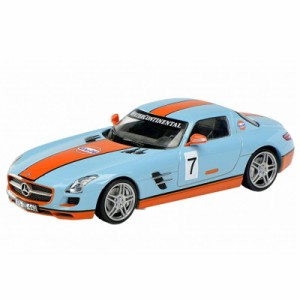 Model Building Mercedes Sls Coupe C197-2009-13 Gray Gray Metallic 1:43 Schuco