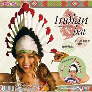 コスプレ〕インディアンハットの...