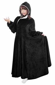 BIBILAB (ビビラボ) セルフこたつ 着る毛布 Mサイズ 2018モデル HFK-M-BK