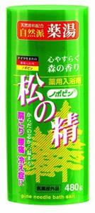 【送料無料】紀陽除虫菊 ノボピン 薬用入浴剤 松の精 480gボトル【まとめ買い20個セット】 N-0027の画像