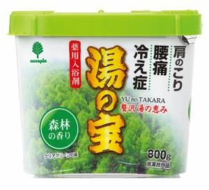 日本製 japan 紀陽除虫菊 湯の宝 森林の香り 800g【まとめ買い16個セット】 N-0055の画像