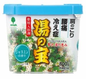 日本製 japan 紀陽除虫菊 湯の宝 ジャスミンの香り 800g【まとめ買い16個セット】 N-0056の画像