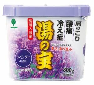 日本製 japan 紀陽除虫菊 湯の宝 ラベンダーの香り 800g【まとめ買い16個セット】 N-0057の画像