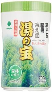 紀陽除虫菊 湯の宝 森林の香り (丸ボトル) 700g【まとめ買い15個セット】 N-0066の画像