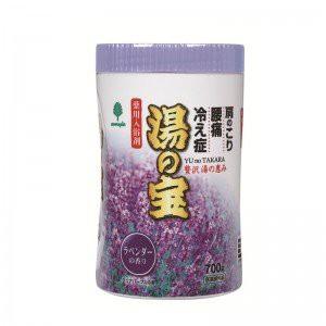 紀陽除虫菊 湯の宝 ラベンダーの香り (丸ボトル) 700g【まとめ買い15個セット】 N-0068の画像