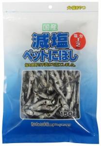 (まとめ買い)藤沢商事 減塩ペットにぼし150g 〔×10〕