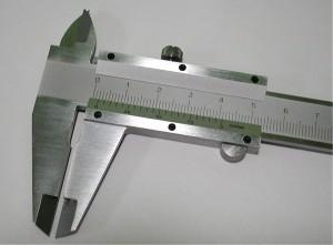 """""""ポケットサイズ高級ノギスMS-150(シルバーM型150m)"""""""
