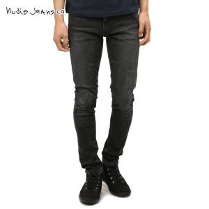 ヌーディージーンズ ジーンズ メンズ 正規販売店 Nudie Jeans ジーパン  Lean Dean 654 Grey Patch 112144