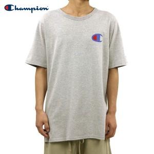 チャンピオン Tシャツ 正規品 CHAMPION 半袖Tシャツ  CREW TEE T1919P Heritage Tee 806-OXFORDGREY #549500 PATRIOTIC C