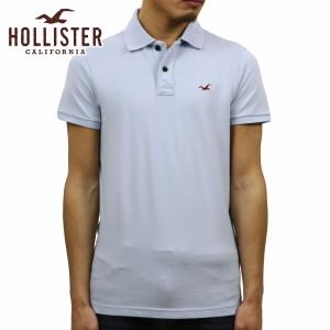 7f3ca0efe31e34 ホリスター HOLLISTER 正規品 メンズ ストレッチスリム ワンポイントロゴ 半袖ポロシャツ Stretch Slim Fit Polo