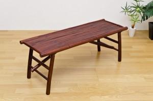 【すぐ使えるクーポン進呈中】【送料無料!ポイント2%】バンブー折りたたみベンチ 便利な折り畳み!アジアン家具