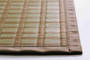 【すぐ使えるクーポン進呈中】【送料無料!ポイント2%】耐久性に優れた伝統ある掛川織のござ! 掛川織 い草花ござ 掛川絣 2畳