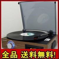 【送料無料!ポイント2%】再生専用・簡単レコード/カセットプレーヤー TC-610 クラシック サウンド プレーヤー レコード