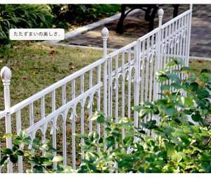 クーポン 送料無料!ポイント2% パークアベニュー ゲートセット IPN-7022G-SET アイアン ゲート フェンス ラティス 花 ガーデン DIY 庭