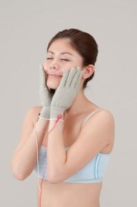 【送料無料!ポイント2%】スーパーリフトグローブS マイクロカレントのグローブ美容!
