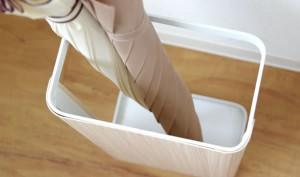 【送料無料!ポイント2%】TEER (ティール) アンブレラスタンド 金属製 コンパクト 傘立て 傘たて 玄関収納 隙間収納 スリム 隙間