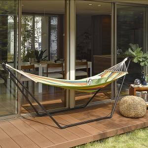 【送料無料!ポイント2%】ハンモック LHM-4072  簡単 ガーデン BBQ 快適 ガーデンチェア