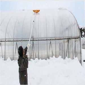 【クーポン進呈中】【送料無料!ポイント2%】 プラスチックビニールハウスキーパー  ビニールハウス ハウス 雪おとし 雪かき 雪掻き 除雪