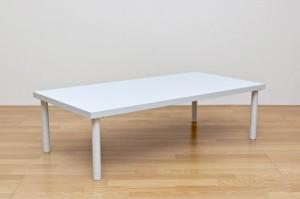 【すぐ使えるクーポン進呈中】【送料無料!ポイント2%】フリーローテーブル 120×60cm 作業台、PCデスク、書斎にと利用方法は無限大!