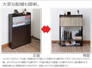 【送料無料!ポイント2%】薄型ルーター&コミック収納ボックス   完成品で日本製!