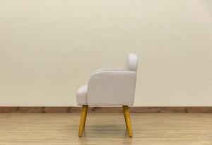 【送料無料!ポイント2%】Collone アームチェア Fabric  ファブリック使用でサラサラな質感で蒸れにくく快適です!