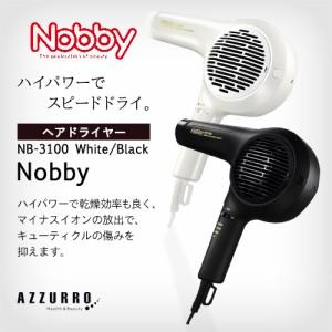 ノビィ NB-3100 マイナスイオン ヘアードライヤー 送料無料