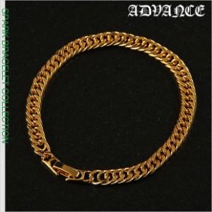 アドバンス ブレスレット メンズ ゴールド ADVANCE アクセサリー B系 ストリート系 ヒップホップ ダンス 衣装 ブランド ファッション 金